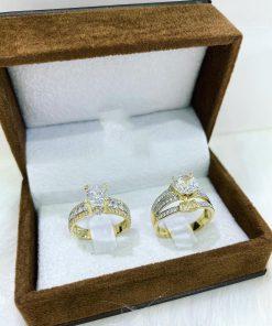 Nhẫn vàng nữ cặp đẹp